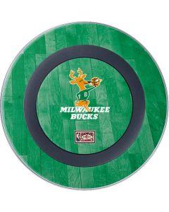 Milwaukee Bucks Hardwood Classics Wireless Charger Skin