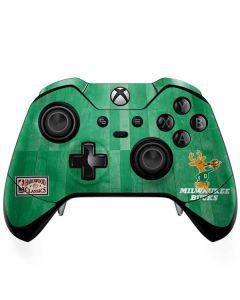 Milwaukee Bucks Hardwood Classics Xbox One Elite Controller Skin