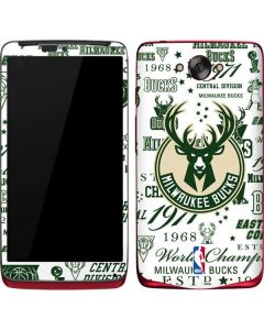 Milwaukee Bucks Historic Blast New Motorola Droid Skin