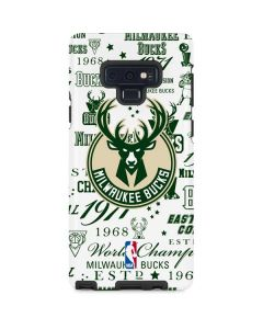 Milwaukee Bucks Historic Blast New Galaxy Note 9 Pro Case