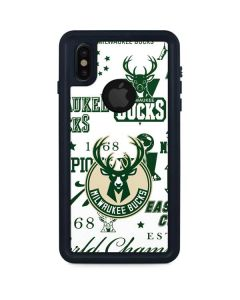 Milwaukee Bucks Historic Blast New iPhone XS Waterproof Case