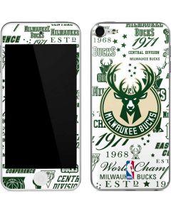 Milwaukee Bucks Historic Blast New Apple iPod Skin