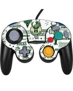 Milwaukee Bucks Historic Blast New Nintendo GameCube Controller Skin