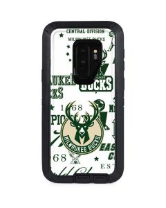 Milwaukee Bucks Historic Blast New Otterbox Defender Galaxy Skin