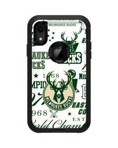 Milwaukee Bucks Historic Blast New Otterbox Defender iPhone Skin