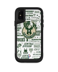 Milwaukee Bucks Historic Blast New Otterbox Pursuit iPhone Skin