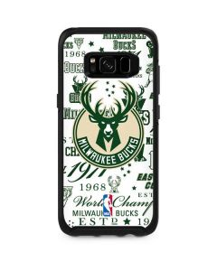 Milwaukee Bucks Historic Blast New Otterbox Symmetry Galaxy Skin