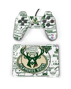 Milwaukee Bucks Historic Blast New PlayStation Classic Bundle Skin