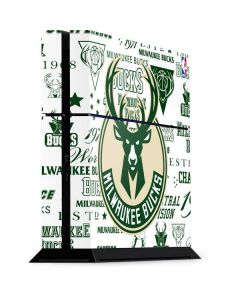 Milwaukee Bucks Historic Blast New PS4 Console Skin