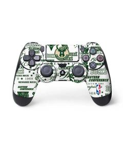 Milwaukee Bucks Historic Blast New PS4 Controller Skin