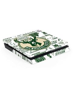 Milwaukee Bucks Historic Blast New PS4 Slim Skin