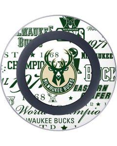 Milwaukee Bucks Historic Blast New Wireless Charger Skin