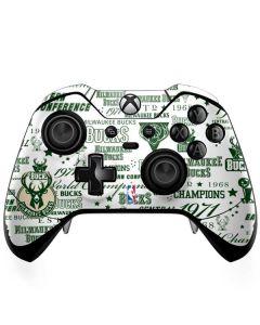 Milwaukee Bucks Historic Blast New Xbox One Elite Controller Skin