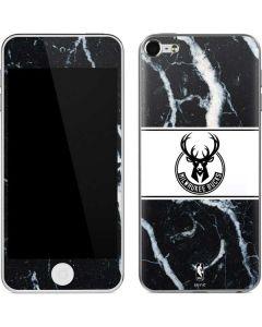 Milwaukee Bucks Marble Apple iPod Skin