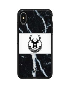 Milwaukee Bucks Marble Otterbox Symmetry iPhone Skin
