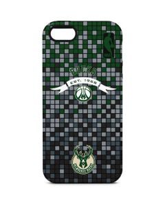 Milwaukee Bucks Pixels iPhone 5/5s/SE Pro Case
