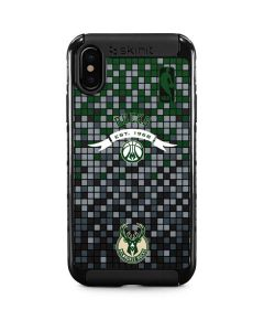 Milwaukee Bucks Pixels iPhone XS Cargo Case