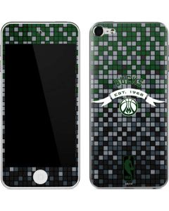 Milwaukee Bucks Pixels Apple iPod Skin