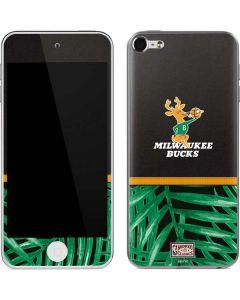 Milwaukee Bucks Retro Palms Apple iPod Skin