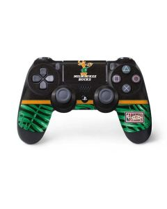 Milwaukee Bucks Retro Palms PS4 Controller Skin