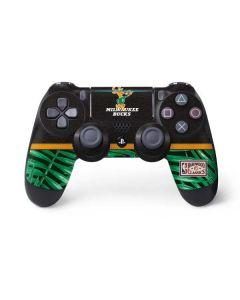 Milwaukee Bucks Retro Palms PS4 Pro/Slim Controller Skin