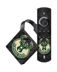 Milwaukee Bucks Rusted Dark Amazon Fire TV Skin