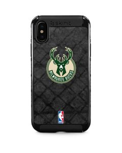Milwaukee Bucks Rusted Dark iPhone XS Cargo Case