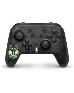 Milwaukee Bucks Rusted Dark Nintendo Switch Pro Controller Skin
