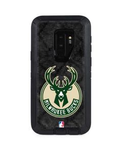 Milwaukee Bucks Rusted Dark Otterbox Defender Galaxy Skin