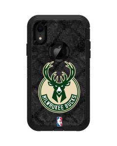 Milwaukee Bucks Rusted Dark Otterbox Defender iPhone Skin
