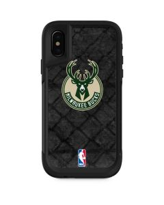 Milwaukee Bucks Rusted Dark Otterbox Pursuit iPhone Skin