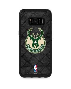 Milwaukee Bucks Rusted Dark Otterbox Symmetry Galaxy Skin