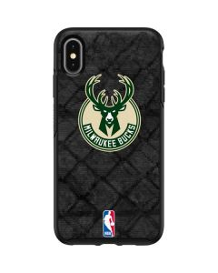 Milwaukee Bucks Rusted Dark Otterbox Symmetry iPhone Skin