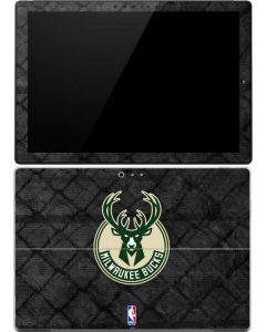 Milwaukee Bucks Rusted Dark Surface Pro 4 Skin
