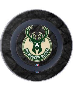 Milwaukee Bucks Rusted Dark Wireless Charger Skin