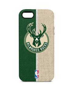 Milwaukee Bucks Split Canvas iPhone 5/5s/SE Pro Case