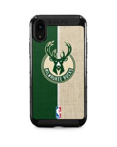 Milwaukee Bucks Split Canvas iPhone XR Cargo Case