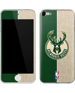 Milwaukee Bucks Split Canvas Apple iPod Skin