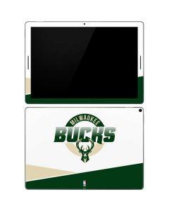 Milwaukee Bucks Split Google Pixel Slate Skin