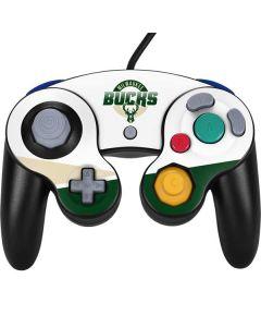 Milwaukee Bucks Split Nintendo GameCube Controller Skin
