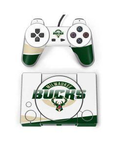 Milwaukee Bucks Split PlayStation Classic Bundle Skin