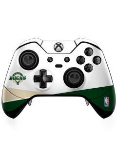 Milwaukee Bucks Split Xbox One Elite Controller Skin