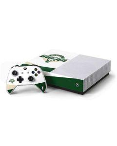 Milwaukee Bucks Split Xbox One S All-Digital Edition Bundle Skin