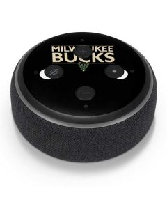 Milwaukee Bucks Standard - Black Amazon Echo Dot Skin
