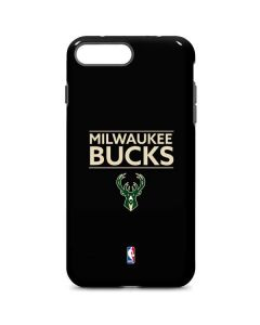 Milwaukee Bucks Standard - Black iPhone 8 Plus Pro Case