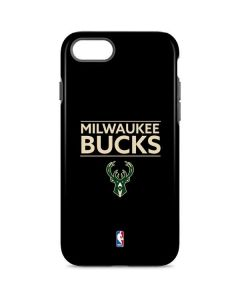 Milwaukee Bucks Standard - Black iPhone 8 Pro Case