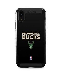 Milwaukee Bucks Standard - Black iPhone XR Cargo Case