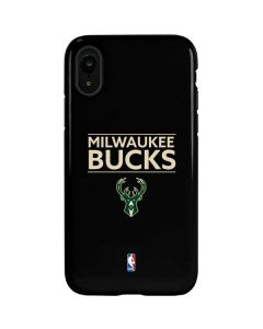 Milwaukee Bucks Standard - Black iPhone XR Pro Case