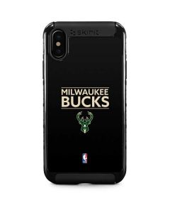 Milwaukee Bucks Standard - Black iPhone XS Cargo Case