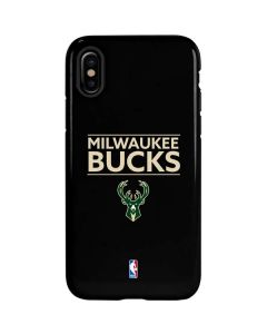 Milwaukee Bucks Standard - Black iPhone XS Max Pro Case